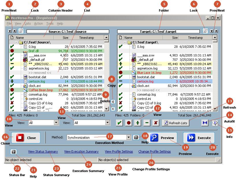 Folder Synchronization Software Utility for Windows 10, 8, 7, Vista